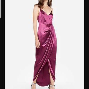 Express Formal, Night Out Fuschia Dress